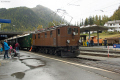 """Bahnoldtimer - 20 Jahre Club 1889: """"Lunghin-Express"""" mit Ge 4/6 353 in Pontresina"""