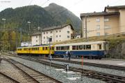 """Bahnoldtimer - 20 Jahre Club 1889: """"Montebello-Express"""" mit ABe 4/4 I 30 & 34 in Pontresina"""