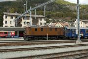 "Bahnoldtimer - 20 Jahre Club 1889: ""Lunghin-Express"" mit Ge 4/6 353 in Samedan"