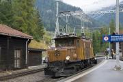 "Bahnoldtimer - 20 Jahre Club 1889: ""Krokodil"" CC Ge 6/6 I 415 des ""Pullmann-Express"" in Bergün/Bravuogn"