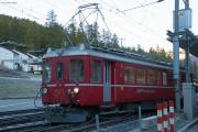 """Bahnoldtimer - 20 Jahre Club 1889: ABe 4/4 501 """"Fliegender Rhätier"""" in Pontresina"""