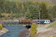 "Bahnoldtimer - 20 Jahre Club 1889: ""Lunghin-Express"" mit Ge 4/6 353 bei Punt Muragl"