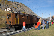 "Bahnoldtimer - 20 Jahre Club 1889: ""Lunghin-Express"" mit Ge 4/6 353 in S-chanf"