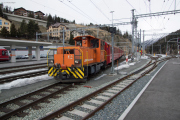 Neuer Bahnhof St. Moritz