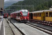 ABe 8/12 3501, Bahnhofsfest St. Moritz 26.8.2017