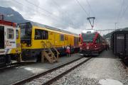 Gmf 4/4 II 23402, ABe 8/12 3504, Bahnhofsfest St. Moritz 26.8.2017