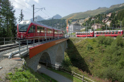 ABe 8/12 3513, St. Moritz (Berninalinie)