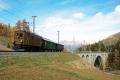 Sonderzug Zernez - Samedan mit Ge 2/4 222 bei Cinuos-chel