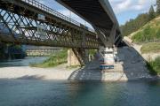 Neue zweite Hinterrheinbrücke Reichenau