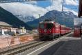 Bever. Neubau Bahnhof und Doppelspurstrecke nach Samedan