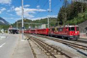 Ge 4/4 II 629 in Reichenau-Tamins