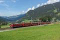 Ge 4/4 I 605 mit Sonderzug (FairFotoFahrt); bei Klosters Dorf