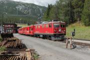 Ge 4/4 I 605 mit Sonderzug (FairFotoFahrt); Davos Wolfgang