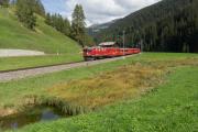 Ge 4/4 I 605 mit Sonderzug (FairFotoFahrt); Davos Frauenkirch