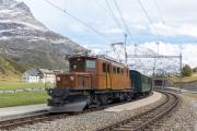 Ge 4/4 162 mit Sonderzug (FairFotoFahrt); Bernina Suot