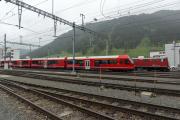 Capricorn ABe 4/16 vor BoBo 1 Ge 4/4 I in Davos Platz