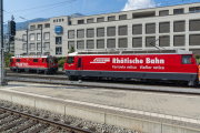 Ge 4/4 II 615 und Ge 4/4 III 647 in Chur