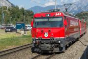 Ge 4/4 III 647 in Ems Werk