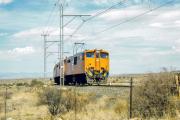 Transnet Freight Rail, ehemals Spoornet, in der Karoo, bei Prince Albert