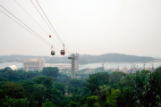 Singapore Cable Car nach Sentosa (von Roll)