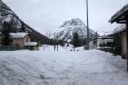 Mont Blanc-Express. Vallorcine, mit geschlossener Strecke nach Chamonix