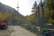 Mont Blanc-Express. SNCF. Umfassende Sanierung der Strecke Vallorcine-Chamonix. Eingang Montets-Tunnel, Vallorcine