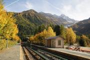 Mont Blanc-Express. SNCF. Umfassende Sanierung der Strecke Vallorcine-Chamonix. Argentière