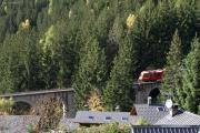 Mont Blanc-Express. SNCF. Viaduc des Tines