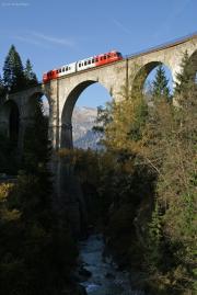 Mont Blanc-Express. SNCF. Viaduc Sainte-Marie (Les Houches)
