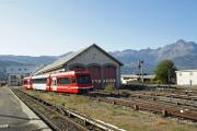 Mont Blanc-Express. SNCF. Saint-Gervais-Le Fayet