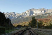 Mont Blanc-Express. SNCF. Servoz.
