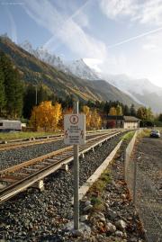 Mont Blanc-Express. SNCF. La Tine