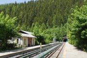 Mont Blanc-Express. SNCF. Montroc-Le Planet