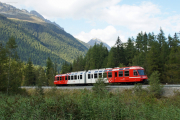 Mont Blanc-Express. SNCF. Vallorcine, Le Buet