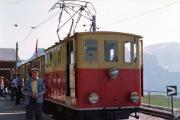 Schynige Platte-Bahn SPB, 1982