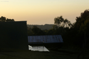 Morgen bei den Mandara-Hütten. Marangu-Route, Tag 2