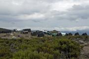Horombo-Hütten (3719m). Kilimanjaro NP. Marangu-Route, Tag 2