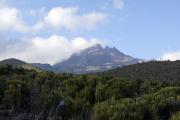 Der Mawenzi. Horombo-Hütten. Kilimanjaro NP. Marangu-Route, Extra-Tag 3