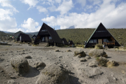 Horombo-Hütten (3719m). Kilimanjaro NP. Marangu-Route, Extra-Tag 3