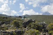 Horombo-Hütten. Kilimanjaro NP. Marangu-Route, Extra-Tag 3