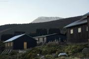 Dämmerung am Kibo. Horombo-Hütten. Kilimanjaro NP. Marangu-Route, Extra-Tag 3
