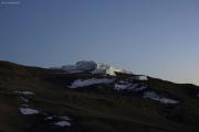 Geschaft, nach 6 Std Aufstieg! Gilman's Point (5681m). Stufengletscher des Östlichen Eisfeldes. Marangu-Route, Tag 5
