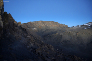 Ziel: Uhuru Peak (5895m) - Kibo-Gipfel. Gilman's Point, Marangu-Route, Tag 5