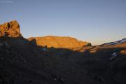 Uhuru Peak (5895m). Kibo-Kraterrand, Marangu-Route, Tag 5