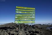 Uhuru Peak (5895m) - Kibo-Gipfel - Höchster Punkt Afrikas! Marangu-Route, Tag 5