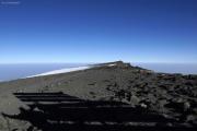 Uhuru Peak (5895m) - Kibo-Gipfel. Blick nach Norden