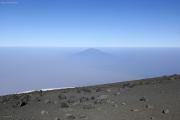Mount Meru (4562m). Uhuru Peak (Kibo-Gipfel)