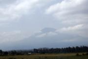 Mount Meru ( 4562m). Bei Arusha
