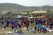 Markt der Massai. Bei Arusha