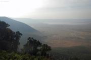 Ngorongoro. Lake Makadi. Südl. Kraterrand